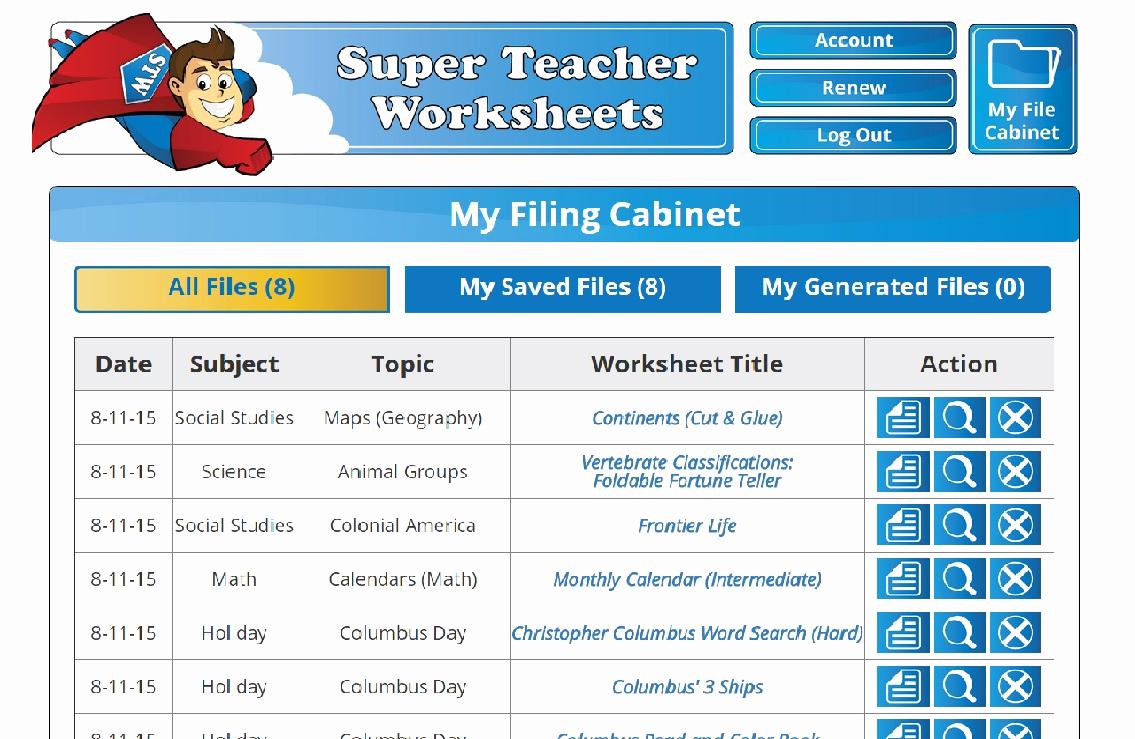 Superteacher Worksheets Login Awesome Greatly Blessed Super Teacher Worksheets