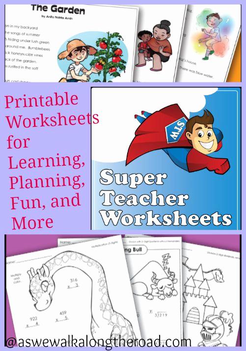 Superteacher Worksheets Login Awesome Super Teacher Worksheets Printable Worksheets for