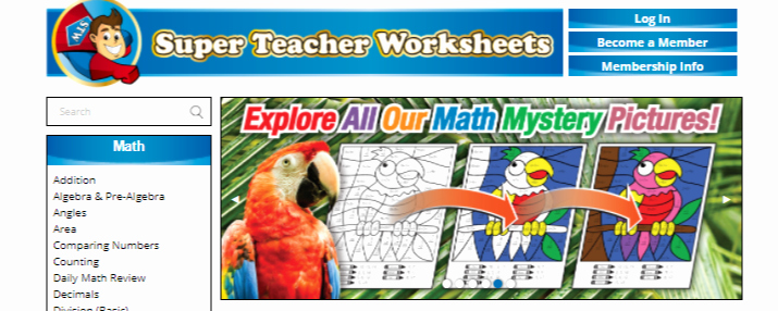 Superteacher Worksheets Login Best Of Super Teacher Worksheets