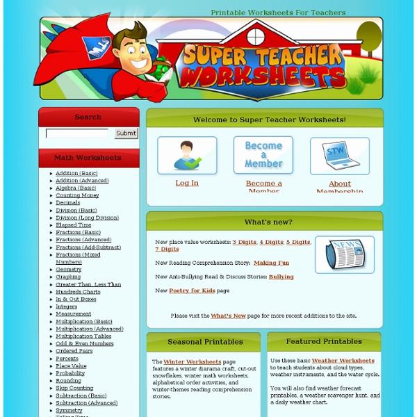 Superteacher Worksheets Login Fresh Super Teacher
