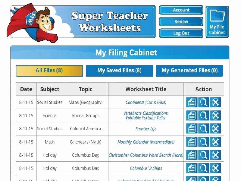 Superteacherworksheets Com Username Password Elegant Super Teacher Worksheets Password