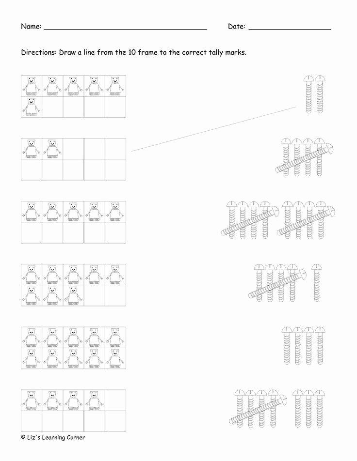 Tally Mark Worksheets for Kindergarten Beautiful Kindergarten Tally Mark Worksheets 28 [ Tally Mark