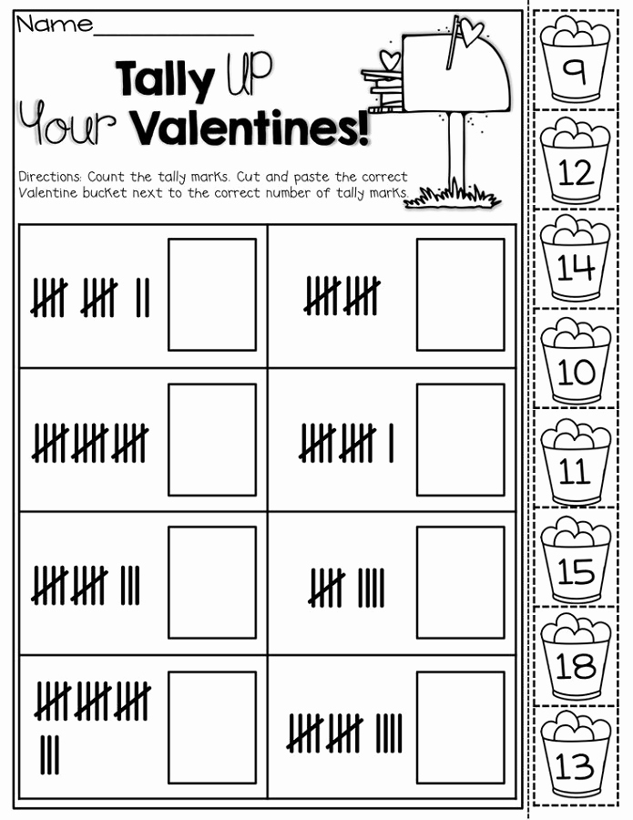 Tally Mark Worksheets for Kindergarten New Tally Mark Worksheets to Print