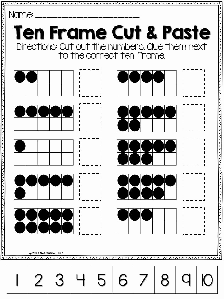Ten Frames Worksheets Luxury Ten Frame Practice Worksheets and Games