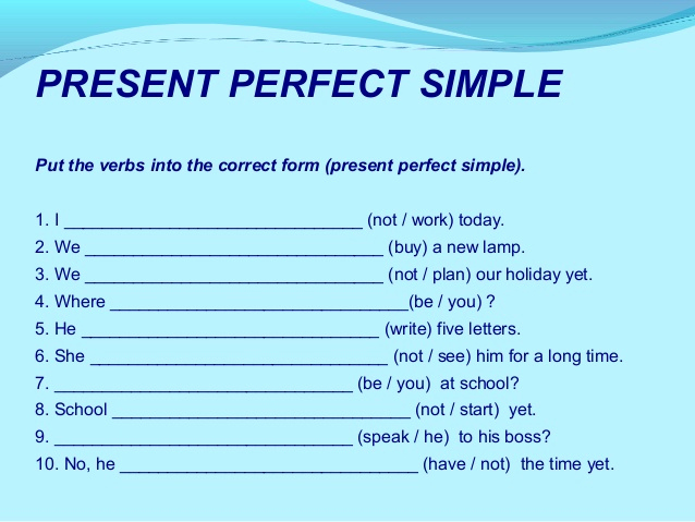 Tenses Worksheets for Grade 6 Beautiful New 461 Present Perfect Tense Worksheet for Grade 6 with