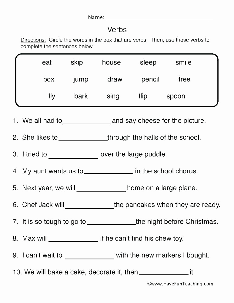 Tenses Worksheets for Grade 6 Luxury Tenses Worksheets for Grade 6 Grammar Tenses Worksheets