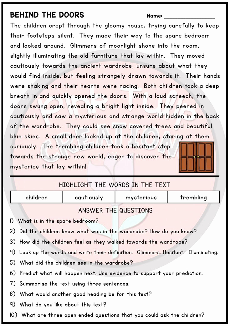 Text Evidence Worksheets 3rd Grade Lovely Text Evidence Worksheets 3rd Grade 10 Page Reading