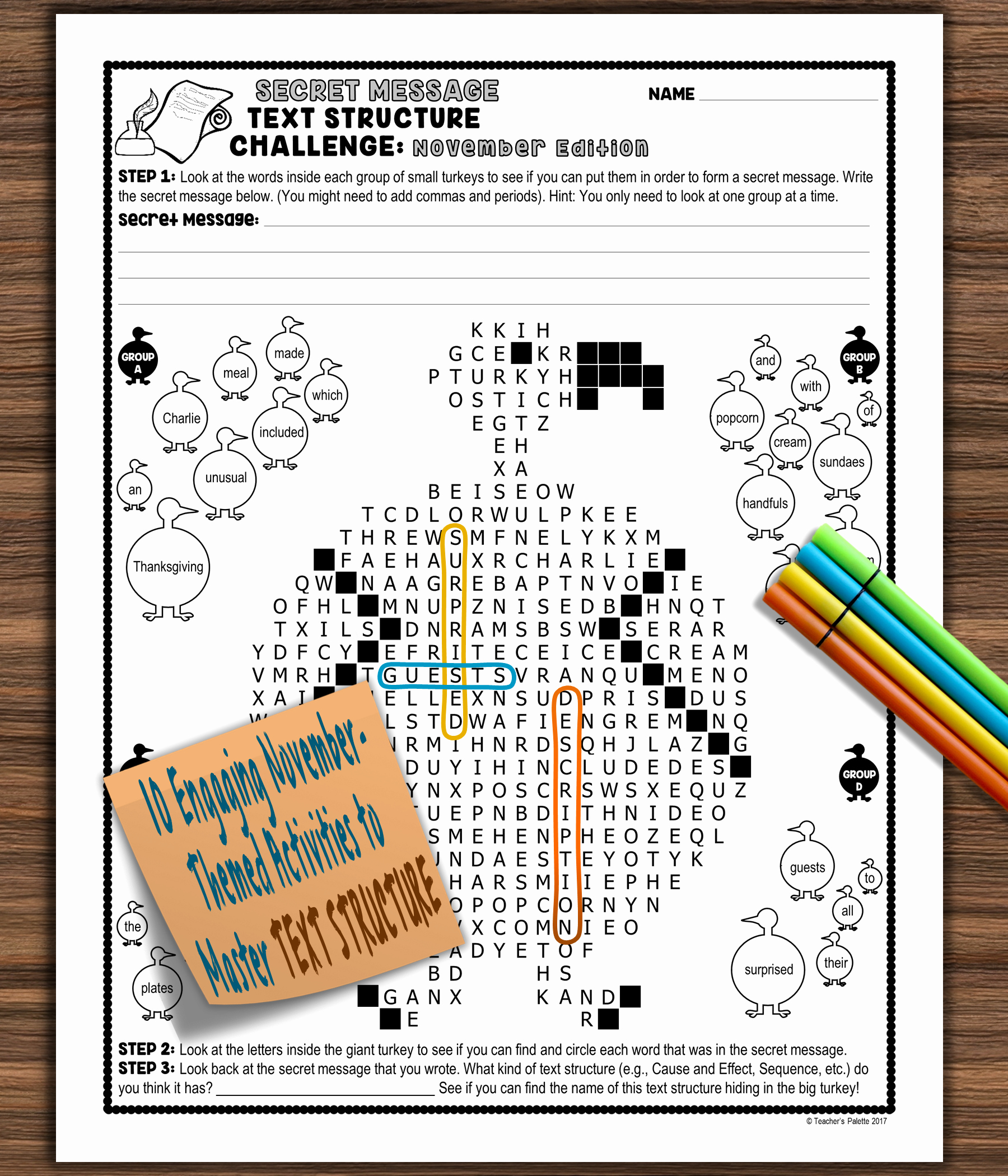 Text Structure Practice Worksheets Awesome Informational Text Structure Nonfiction Structure