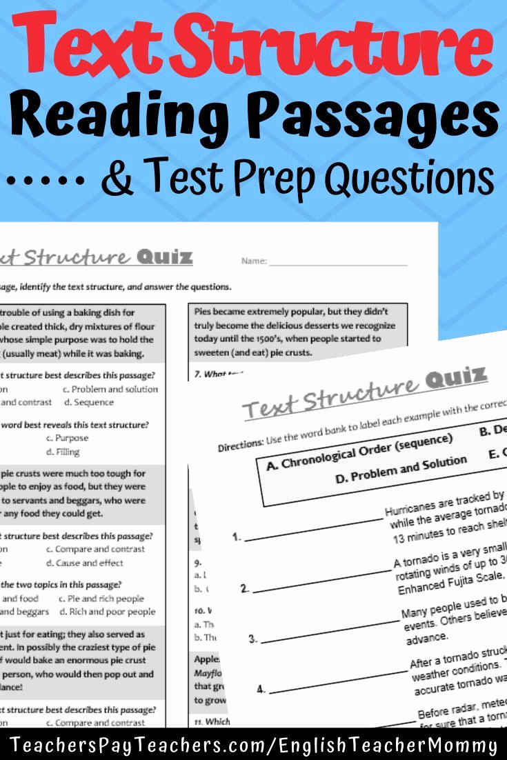Text Structure Practice Worksheets Luxury Nonfiction Text Structure Practice Quizzes Distance