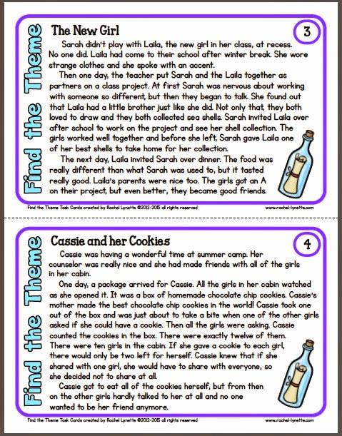 Theme Worksheets 5th Grade Elegant 20 5th Grade theme Worksheets