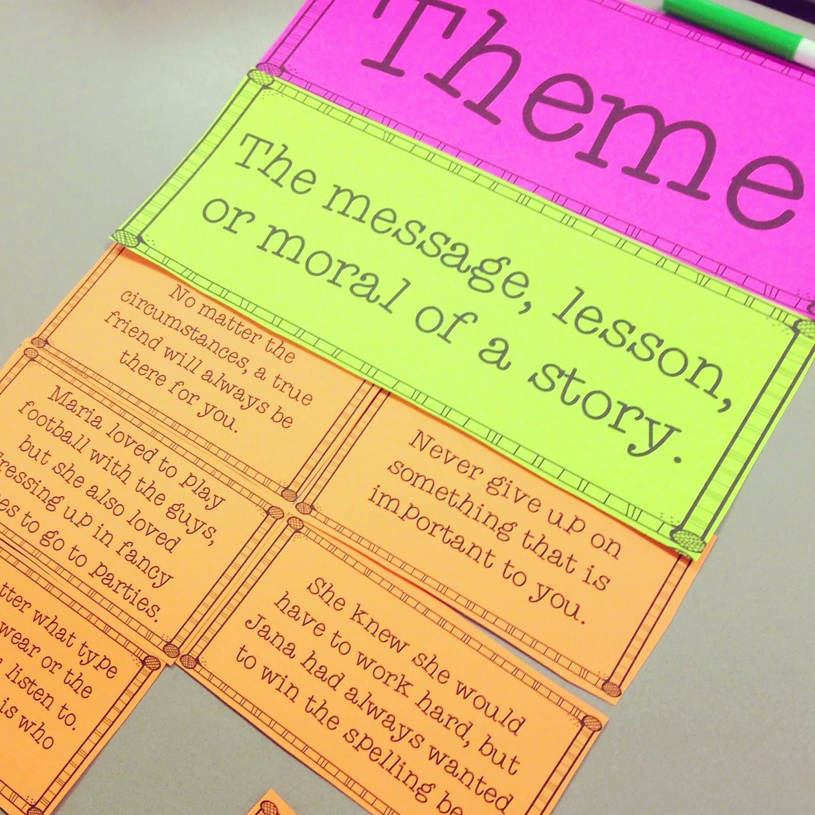 Theme Worksheets 5th Grade New Teaching theme