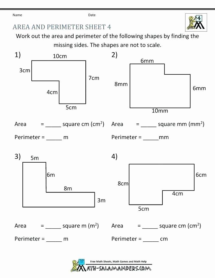 Third Grade Perimeter Worksheets New Perimeter Worksheets for 3rd Grade 3rd Grade Perimeter and