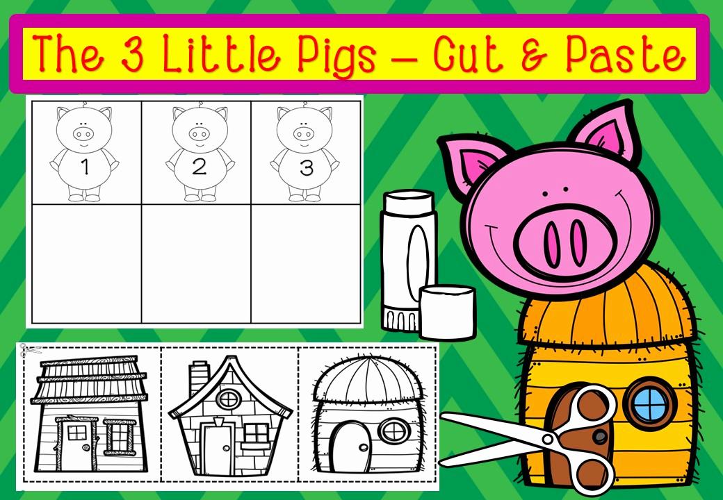 Three Little Pigs Worksheets Elegant the Three Little Pigs Bundle – Mash