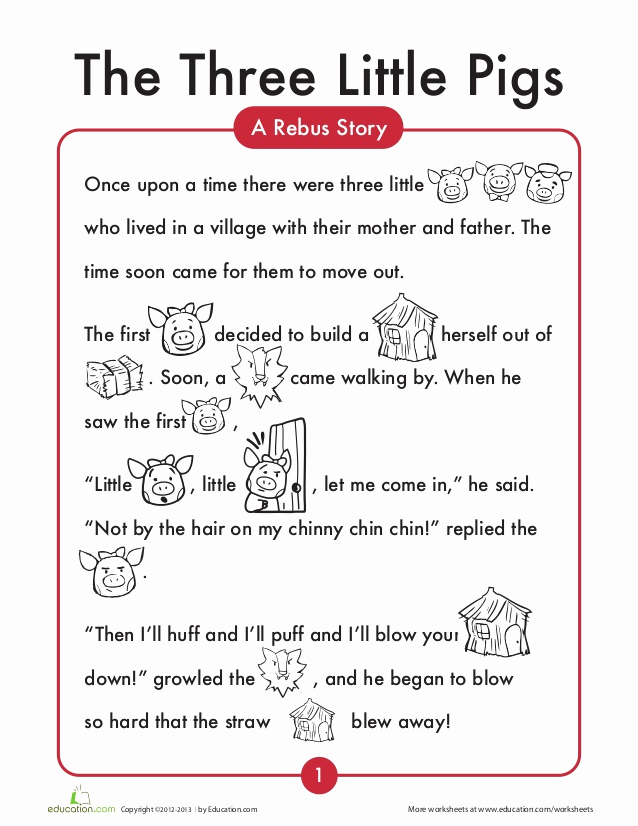 Three Little Pigs Worksheets New 3 Little Pigs English Worksheets