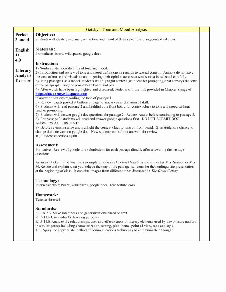 Tone and Mood Worksheet Pdf Fresh Identifying tone and Mood Worksheet Answers — Excelguider