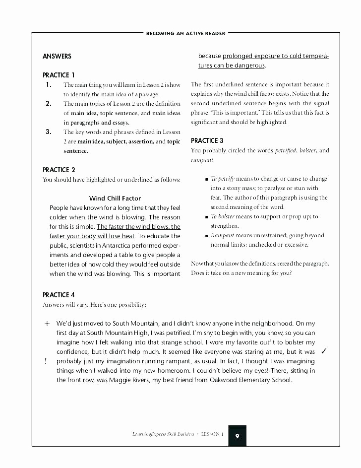 Topic Sentence Worksheets 5th Grade Inspirational topic Sentence Worksheets 5th Grade Paragraph Main Idea