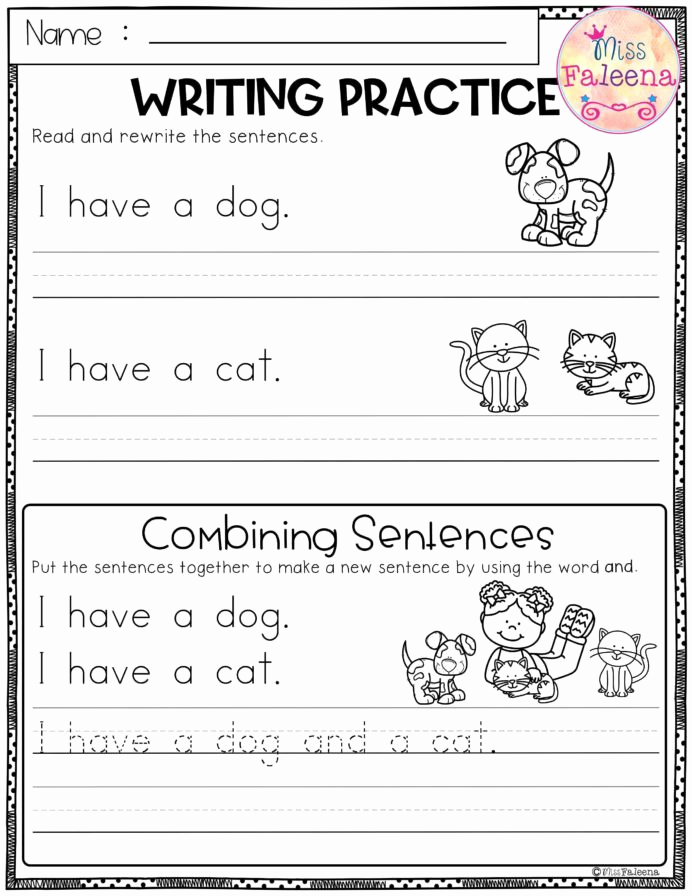Topic Sentence Worksheets 5th Grade Unique 20 Bining Sentences Worksheet 5th Grade