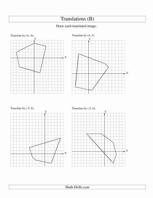 Translation Math Worksheets Awesome Algebra Worksheet New 364 Algebra Translation Worksheet