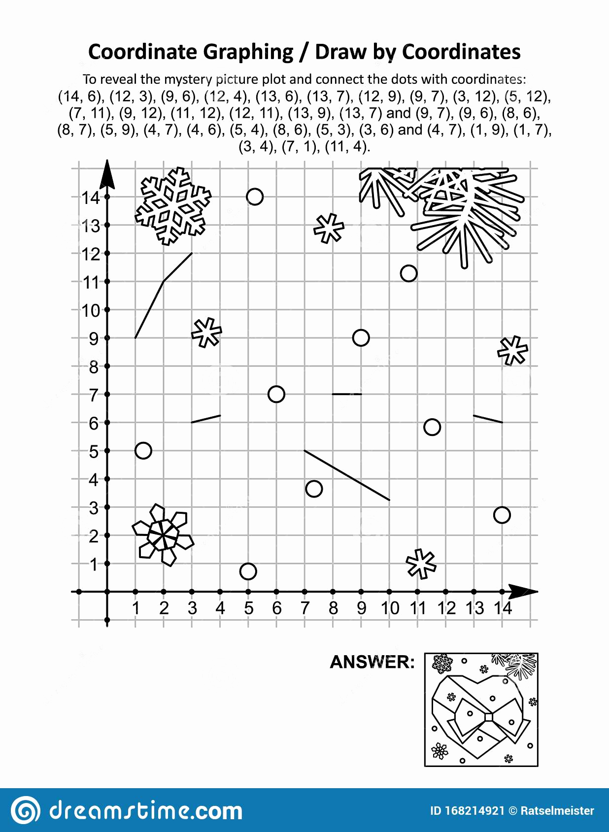 Valentine Day Coordinate Graphing Worksheets Lovely Coordinate Graphing Draw by Coordinates Math