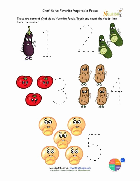 Vegetable Worksheets for Preschool Best Of Crafts Actvities and Worksheets for Preschool toddler and