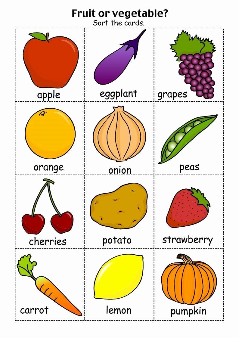 Vegetable Worksheets for Preschool Fresh Free Name that Ve Able Worksheet Preschool