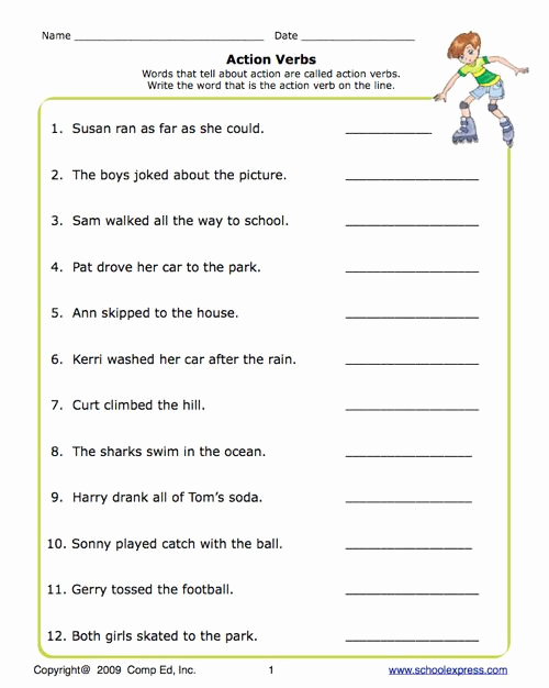 Verb Tense Worksheets Middle School Awesome Verb Tense Worksheets High School In 2020