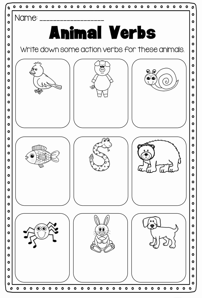 Verbs Worksheets First Grade Beautiful 1st Grade Worksheets Best Coloring Pages for Kids