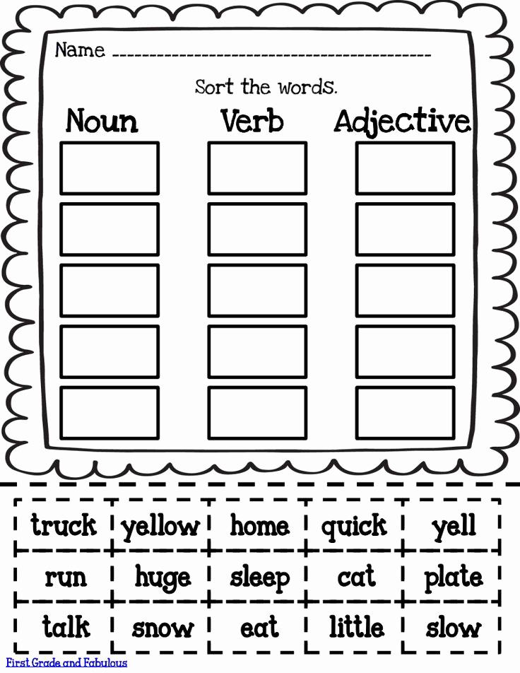 Verbs Worksheets First Grade Luxury sorts Pdf Google Drive Education Pinterest
