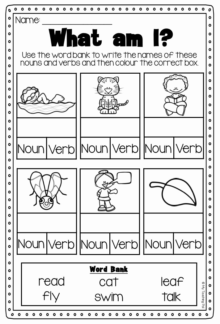 Verbs Worksheets First Grade Luxury Verbs Worksheet It Covers Action Verbs Past Present