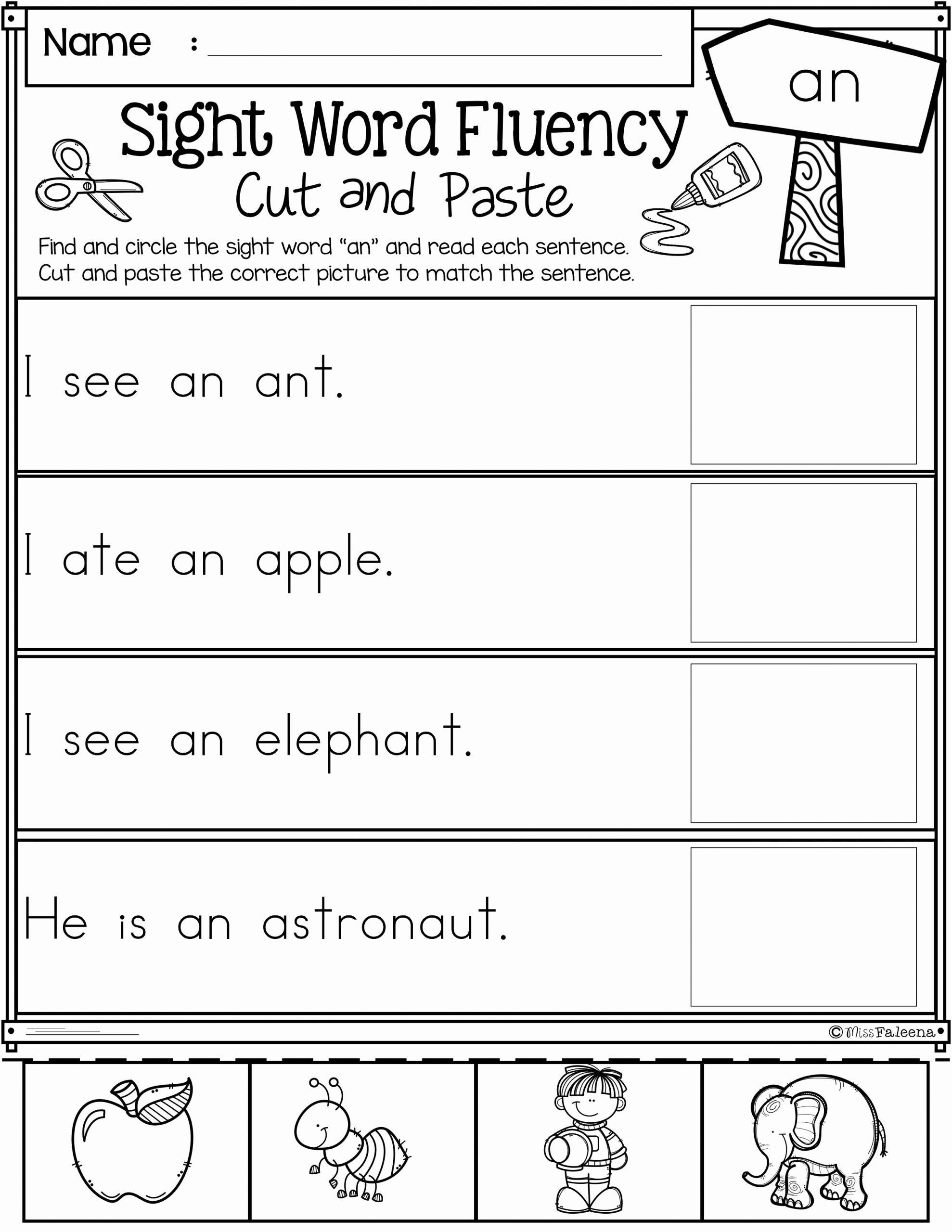 Vocabulary Worksheets for 1st Graders Elegant Free 1st Grade Worksheet Sight Words 1st Grade