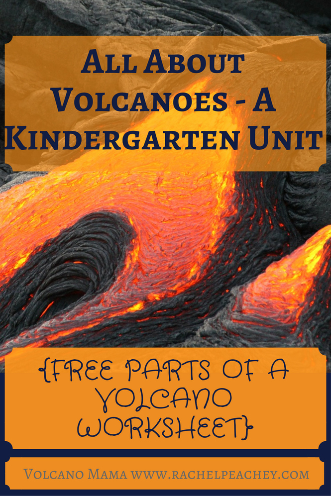 Volcano Worksheet for Kids Lovely All About Volcanoes – A Kindergarten Unit Free Parts Of A