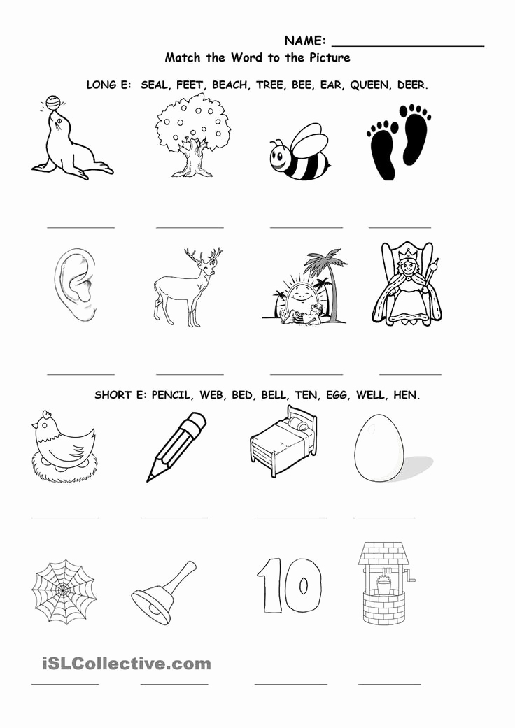 Vowel Consonant E Worksheets Luxury Vowel Consonant E Worksheet Long and Short E In 2020
