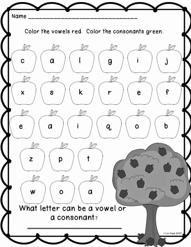 Vowel Worksheets for Kindergarten Beautiful Polka Dot Firsties Throwback Thursday Vowels