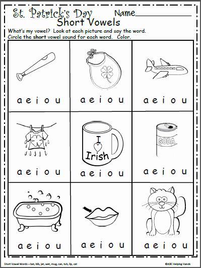Vowel Worksheets for Kindergarten New Free Short Vowels Worksheet for Kindergarten Madebyteachers
