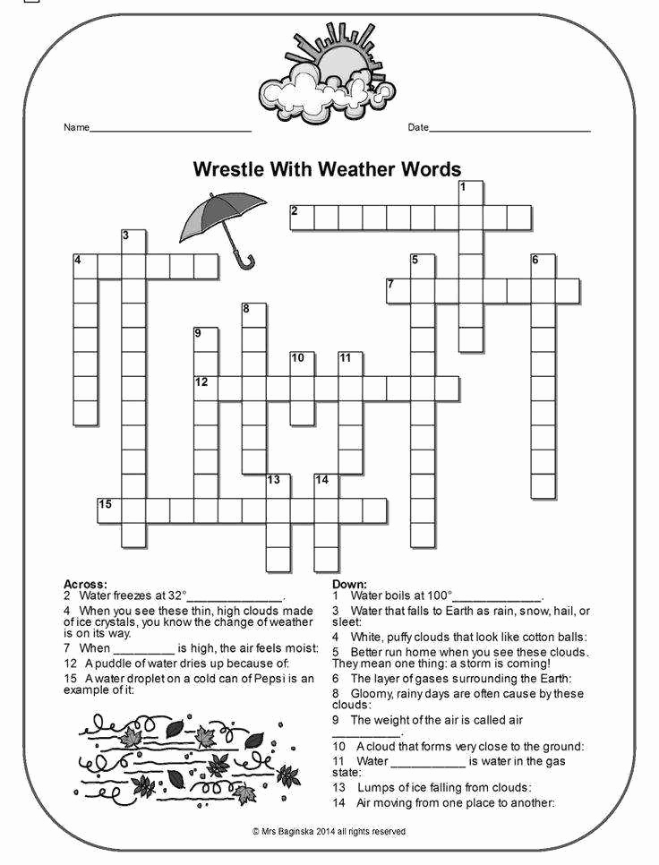 Weather tools Worksheet Elegant Weather Instruments Worksheet