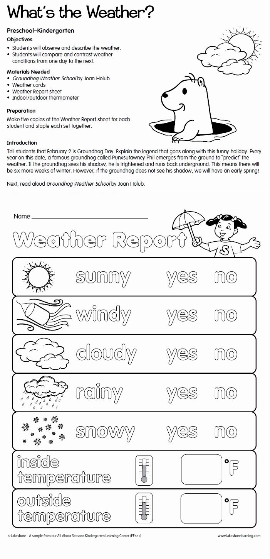 Weather tools Worksheet New Weather tools Worksheets