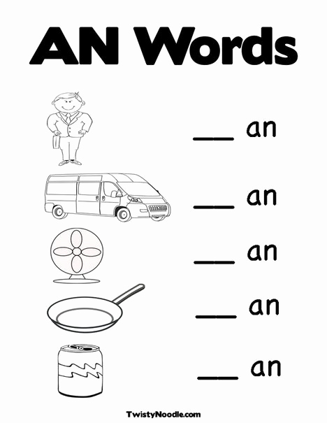 Word Family Worksheet Kindergarten Beautiful 17 Best Images About Word Families On Pinterest