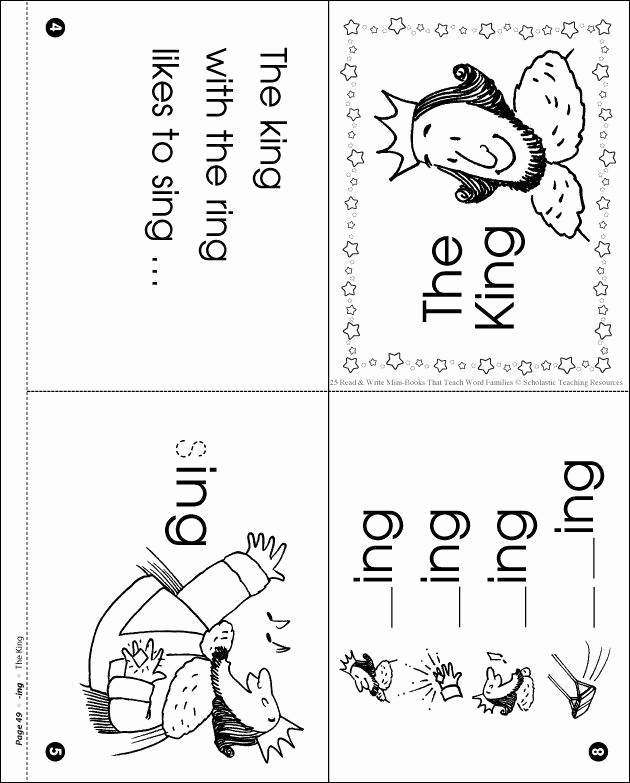 Word Family Worksheet Kindergarten Inspirational Word Families Ing First Grade In 2020 with Images
