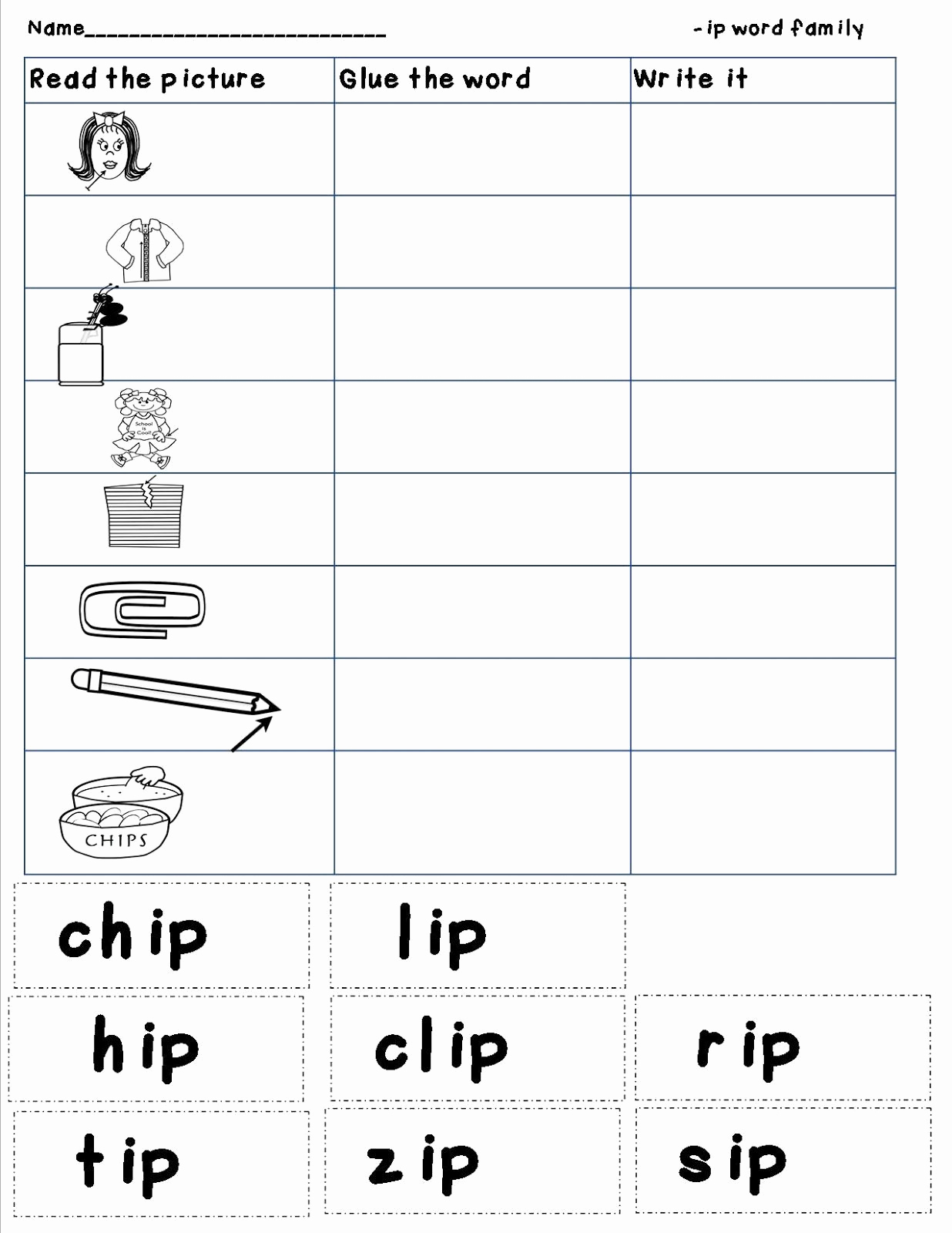 Word Family Worksheet Kindergarten Luxury Mrs Bohaty S Kindergarten Kingdom