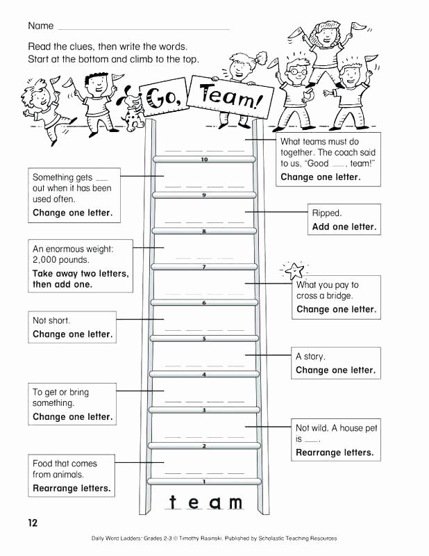 Word Ladder Worksheets Best Of 29 Word Ladder Worksheets
