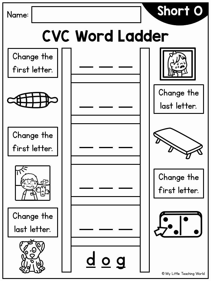 Word Ladder Worksheets Elegant Word Ladder