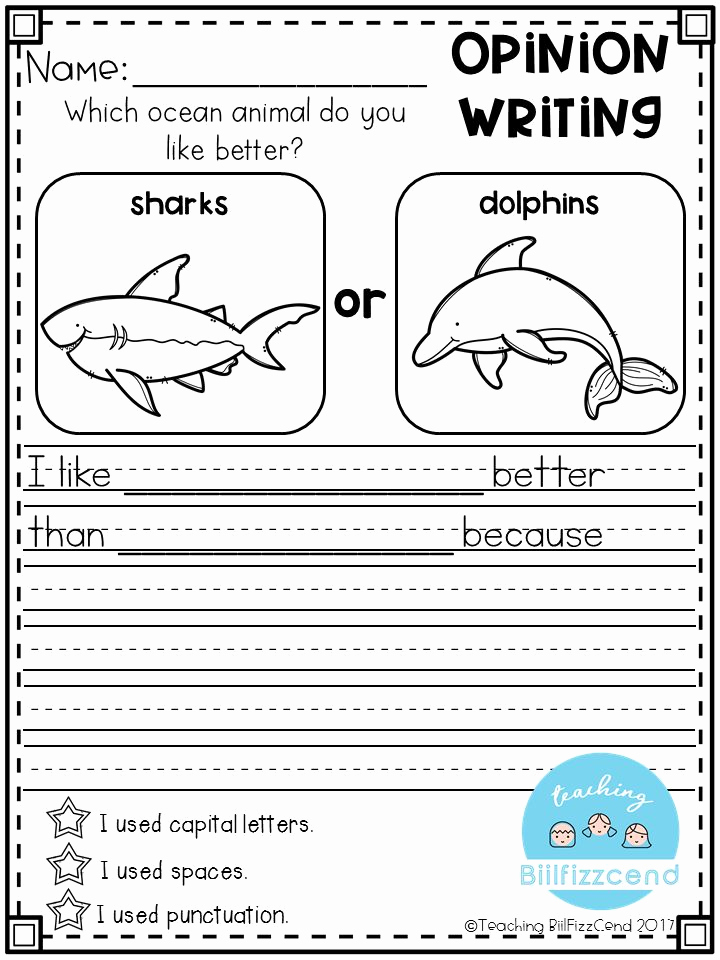 Worksheets for First Grade Writing Beautiful 1st Grade Writing Worksheets & Free Printables