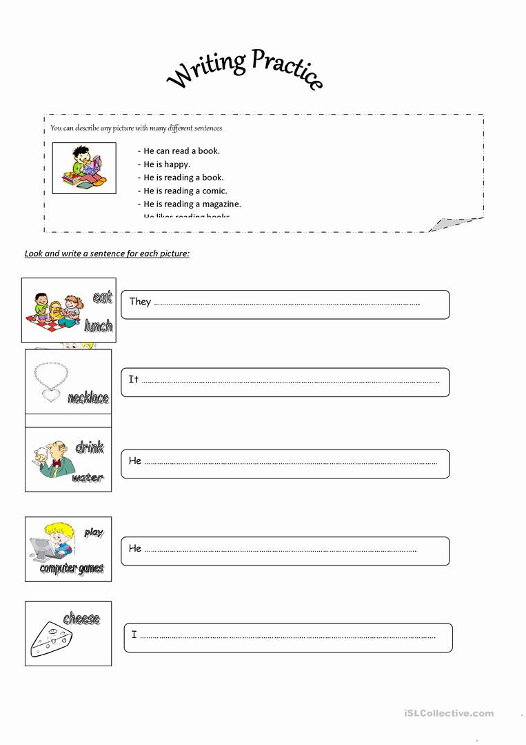 Writing Sentences Worksheets Elegant Mockinbirdhillcottage Sentences In English Worksheets