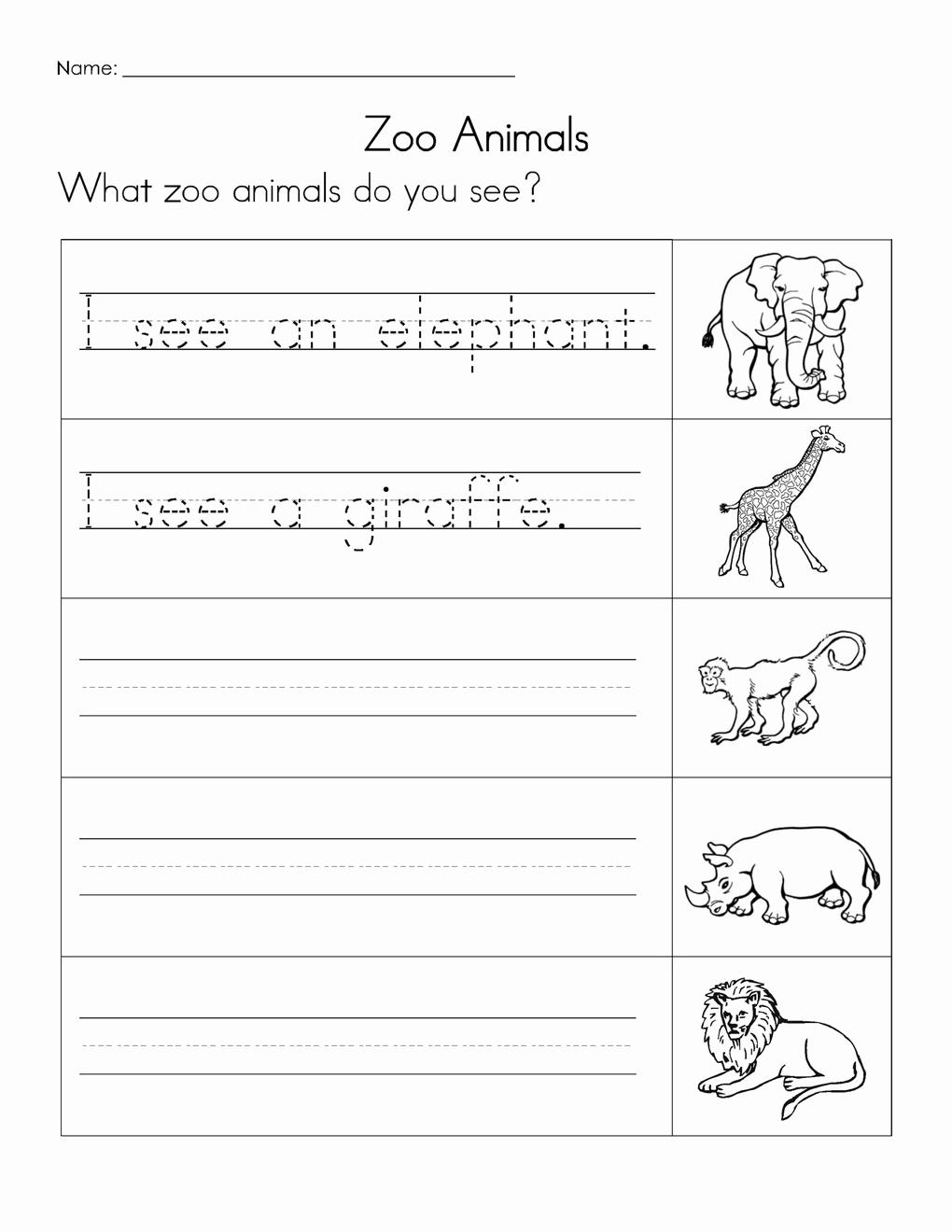 Writing Sentences Worksheets Luxury 12 Best Of Tracing Sentences Worksheets Reading