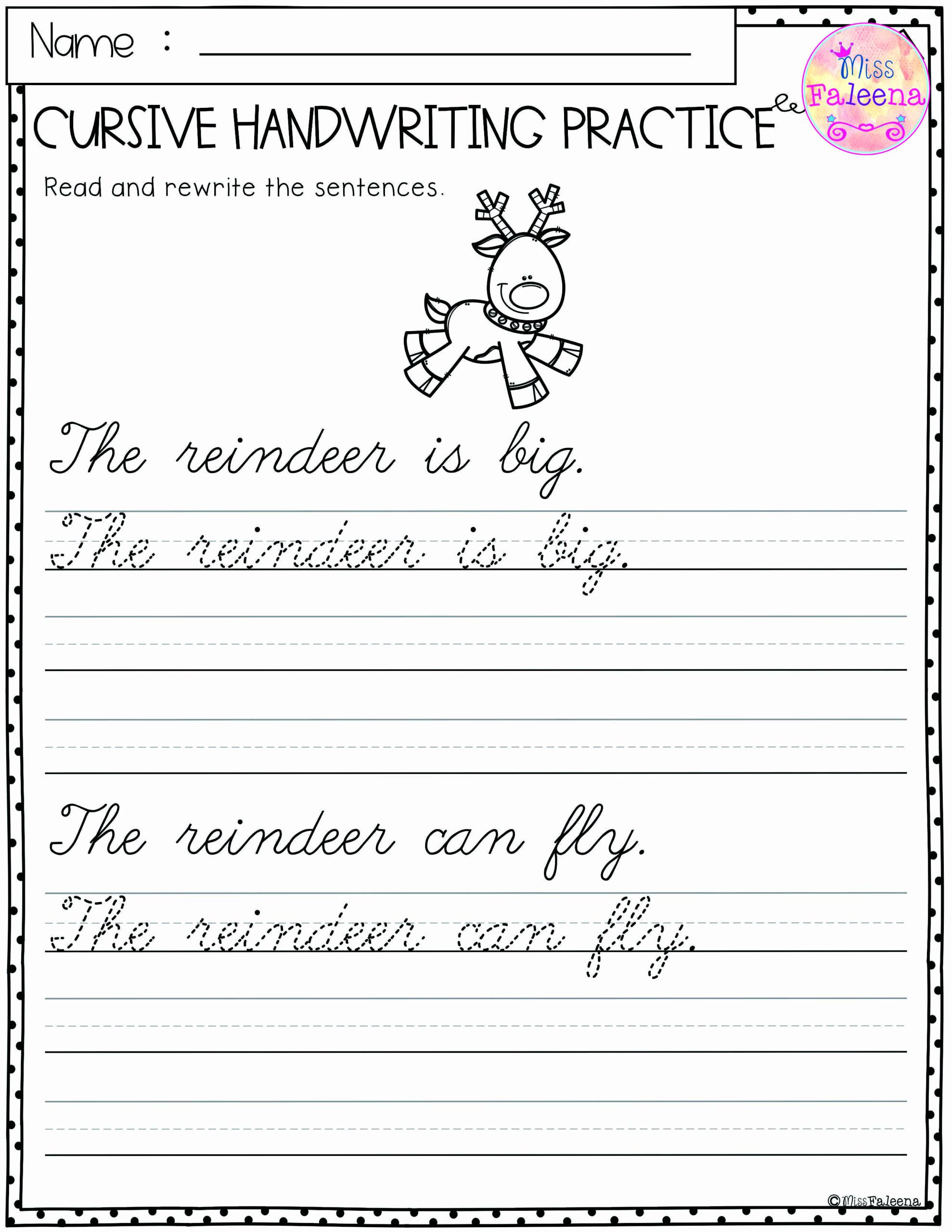 Writing Sentences Worksheets Unique Sentence Tracing Worksheets