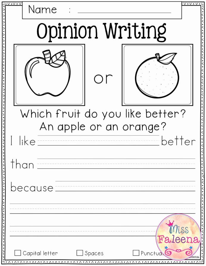 Writing Worksheet 1st Grade Elegant October Writing Prompts In Kindergarten 1st Grade
