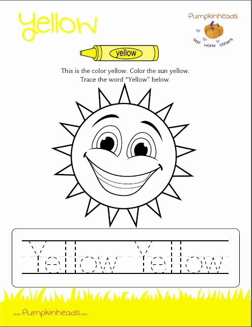 Yellow Worksheets for Preschool Awesome Check Out Our Worksheets for the Classroom and at Home