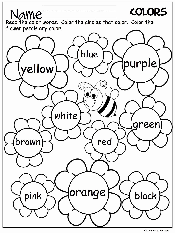 Yellow Worksheets for Preschool Beautiful 20 Yellow Worksheets for Preschool