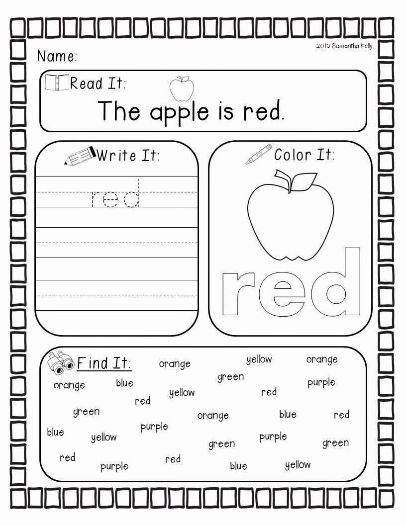 Yellow Worksheets for Preschool Fresh 20 Yellow Worksheets for Preschool